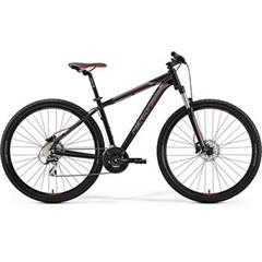 BIG.NINE 20-D Matt Black(Red/Silver)