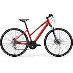 CROSSWAY 20-D-LADY Matt X'Mas Red(Black/Dark Red)