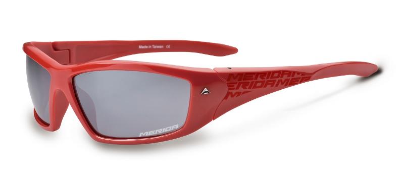 Brýle  957  červené ( šedá skla )