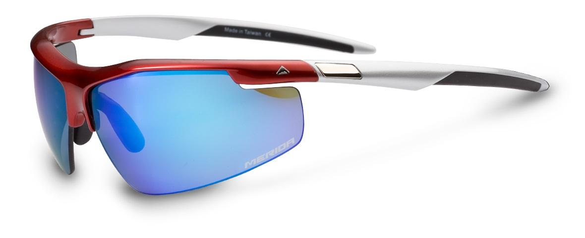 Brýle s výměnnými skly  872  červeno/bílé