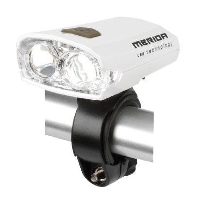 Světlo přední MERIDA USB  HL-MD024  bílé