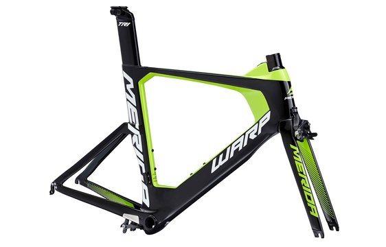Rám WARP TRI 5000 KIT FRM LTD Black/Green(White) L(57)