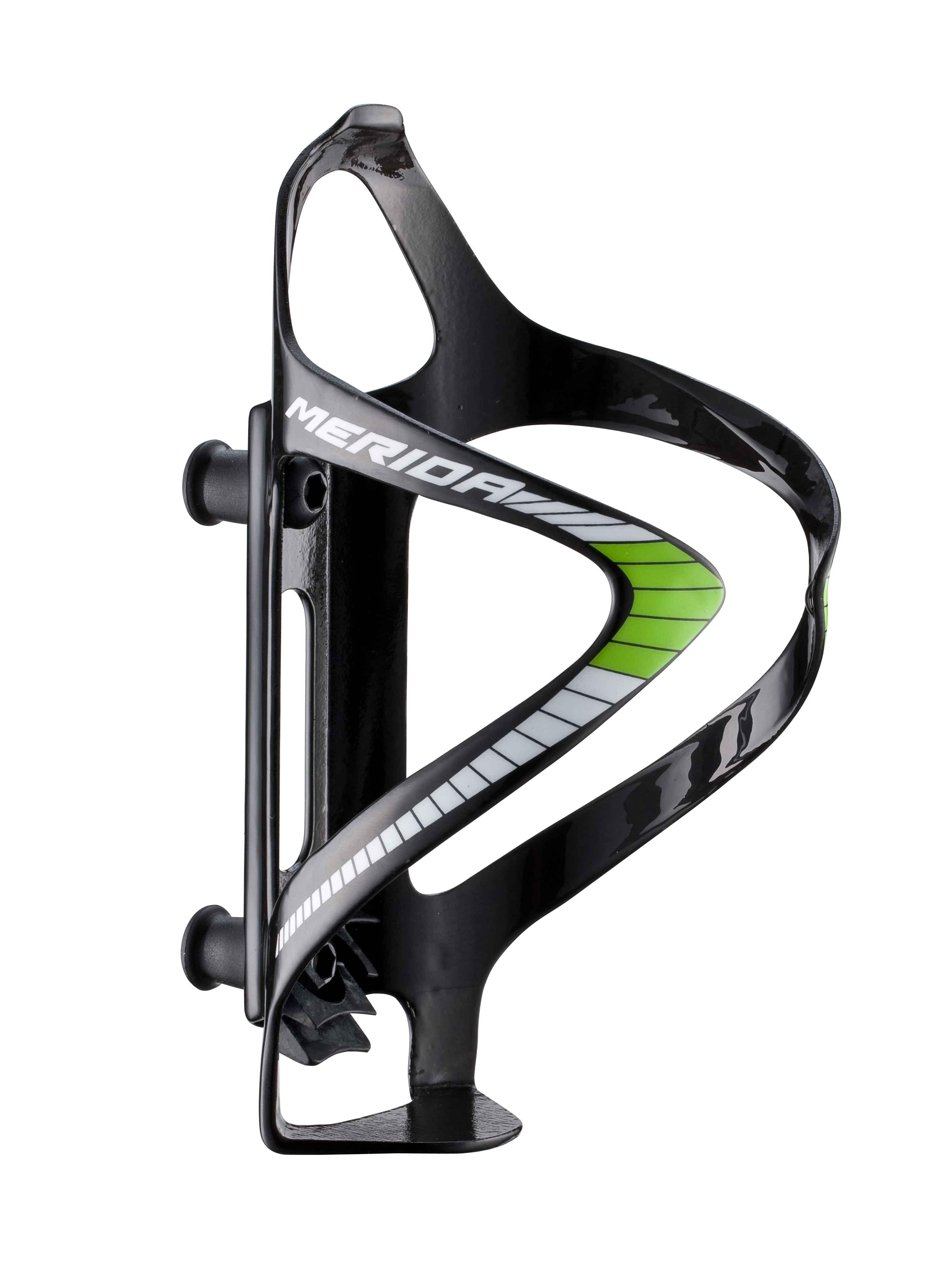 MERIDA - Košík na lahev  Carbon  426  černo/bílo/zelený