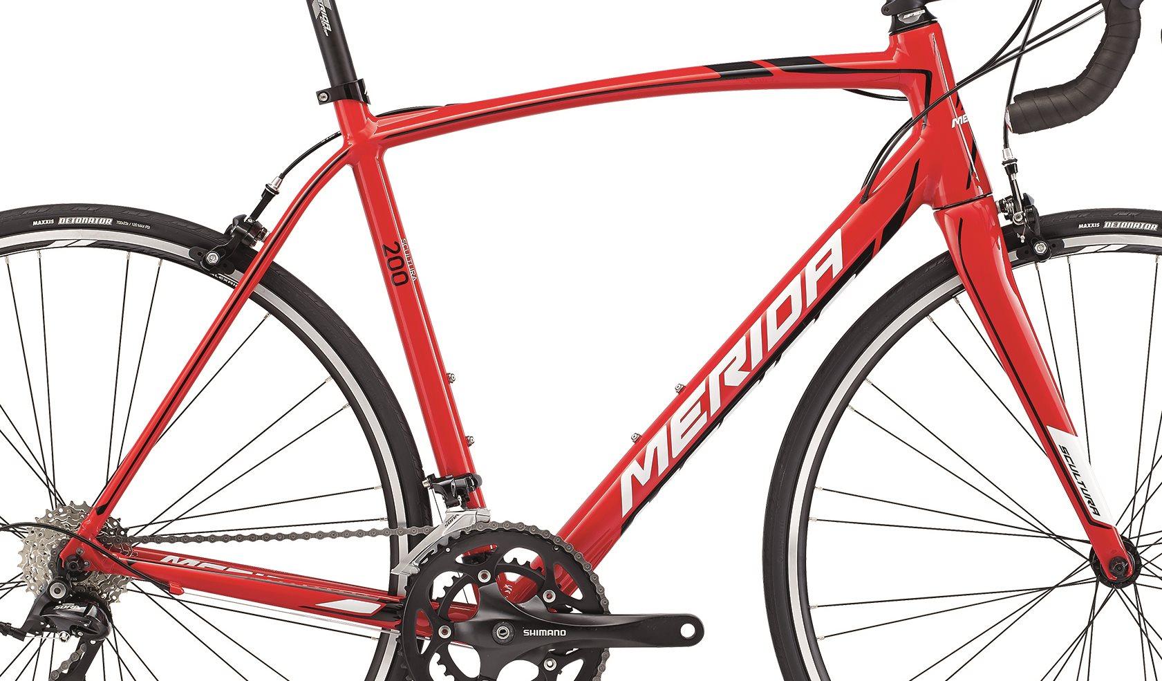 Rám  SCULTURA 200 Red(Black/White)  S(50)