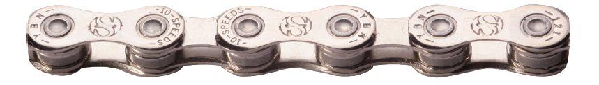 Yaban - Řetěz S10e S2 pro E-kola stříbrný 10x