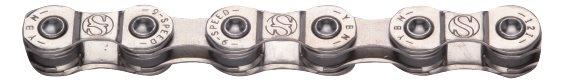 Yaban - Řetěz S9e S2 pro E-kola stříbrný 9x
