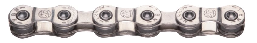 Yaban - Řetěz S8e S2 pro E-kola stříbrný 8x
