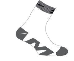 Ponožky  MERIDA  259  bílo/šedé  L