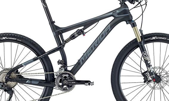 Rám NINETY-SIX 7.XT Matt UD Carbon(grey) S