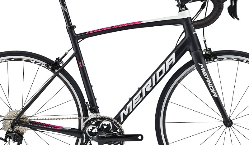 Rám  RIDE 400  Silk Met.Black(Lampre T-replica)  L