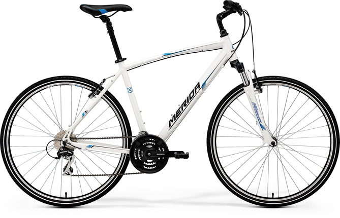 Merida CROSSWAY 20-V White(Blue/Black) 52CM
