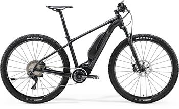 Merida eBIG.NINE 900 Matt Black (Glossy Black) XL