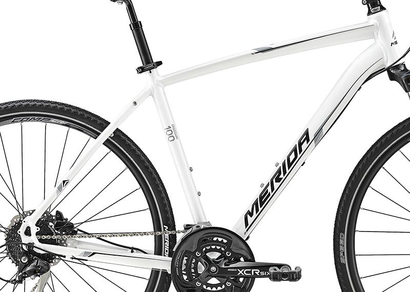Rám  CROSSWAY 100 Pearl White(Grey/Black)  48cm
