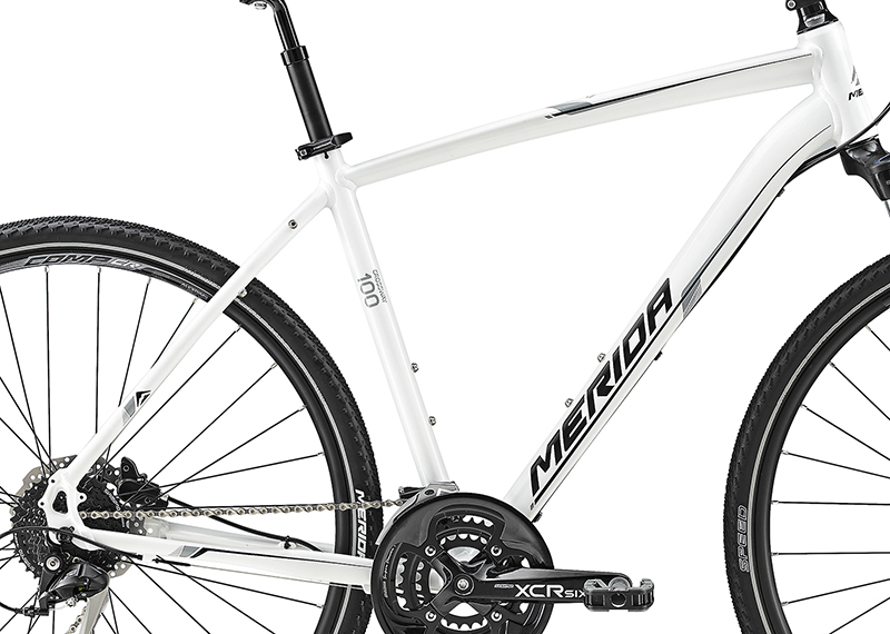 Rám CROSSWAY 100 Pearl White(Grey/Black) 42cmL