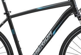 Rám CROSSWAY 500 Matt Black(Blue/Grey) 55CM