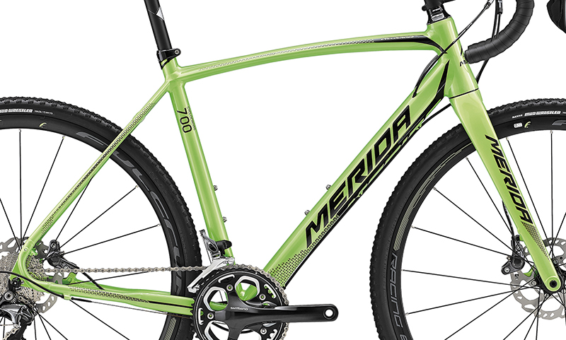 Rám CYCLOCROSS 700 Green(Black) S-M