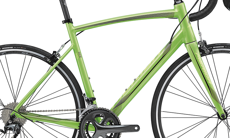 Rám RIDE 300 Green(Black) XL