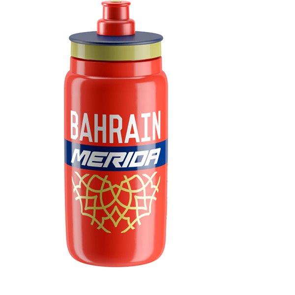 Elite Láhev Fly Team Bahrain Merida 500ml. červená