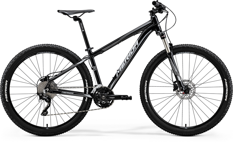 Merida BIG.SEVEN 80-D Metallic Black(Silver) XS(13.5)