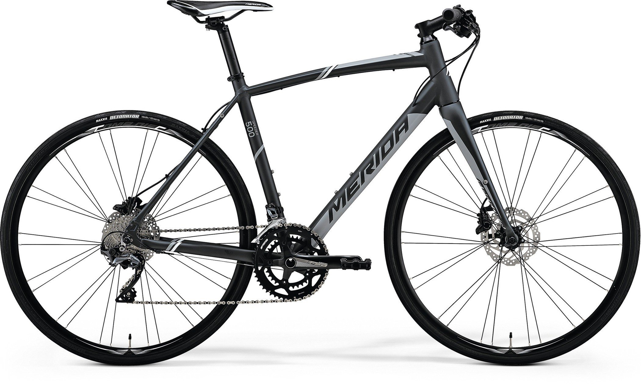 Merida SPEEDER 500 Matt Dark Grey(Grey/White) M-L(54)