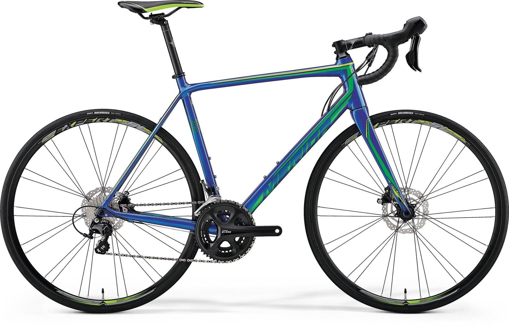 Merida SCULTURA DISC 400 Blue(Green) M-L(54)