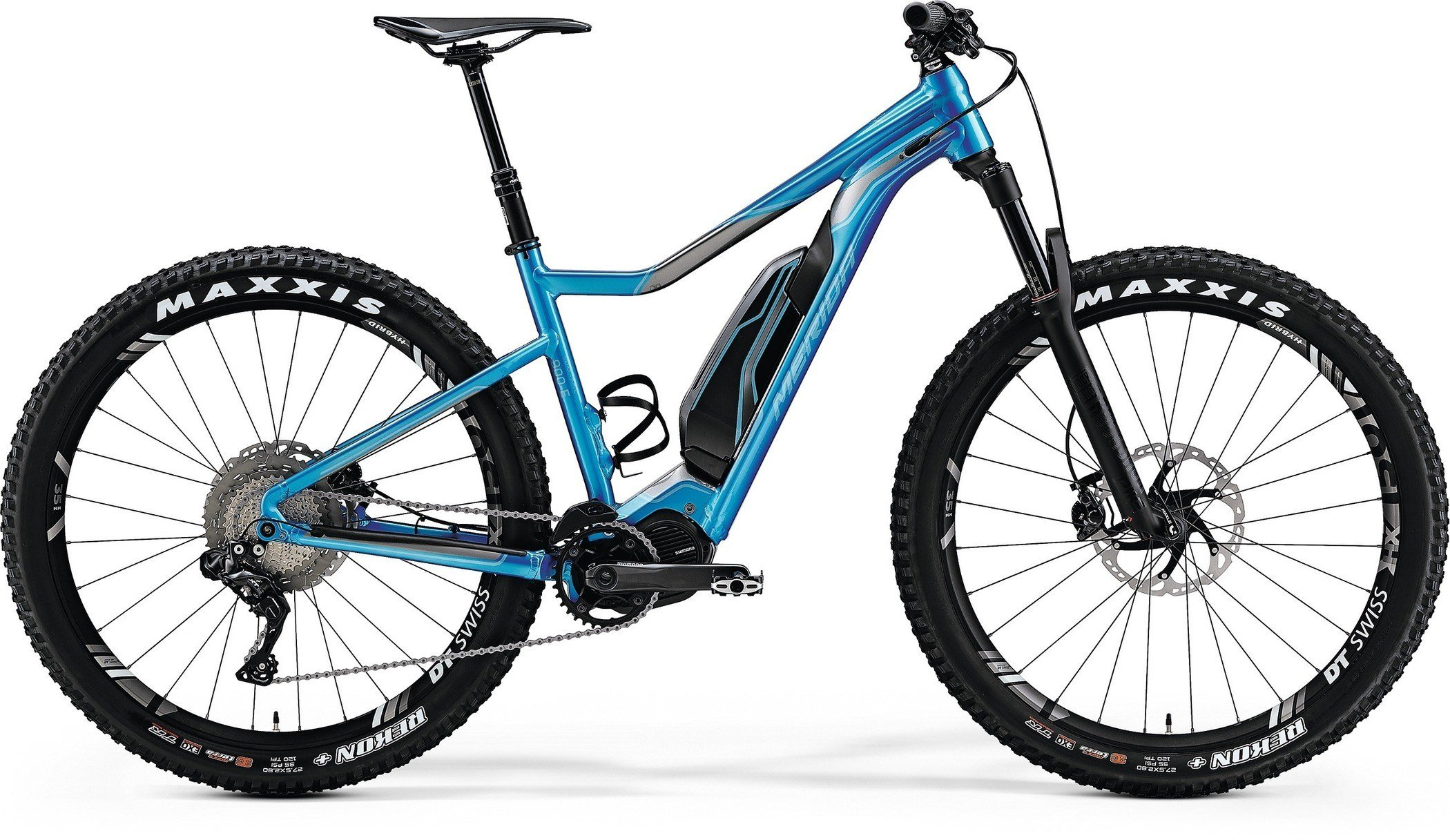 Merida eBIG.TRAIL 900E Shiny Dark Silver / Blue L(49)