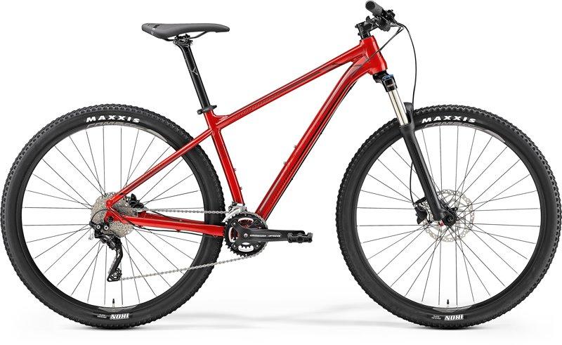 Merida BIG.NINE 300 Red (Dark Red/Black) XXL