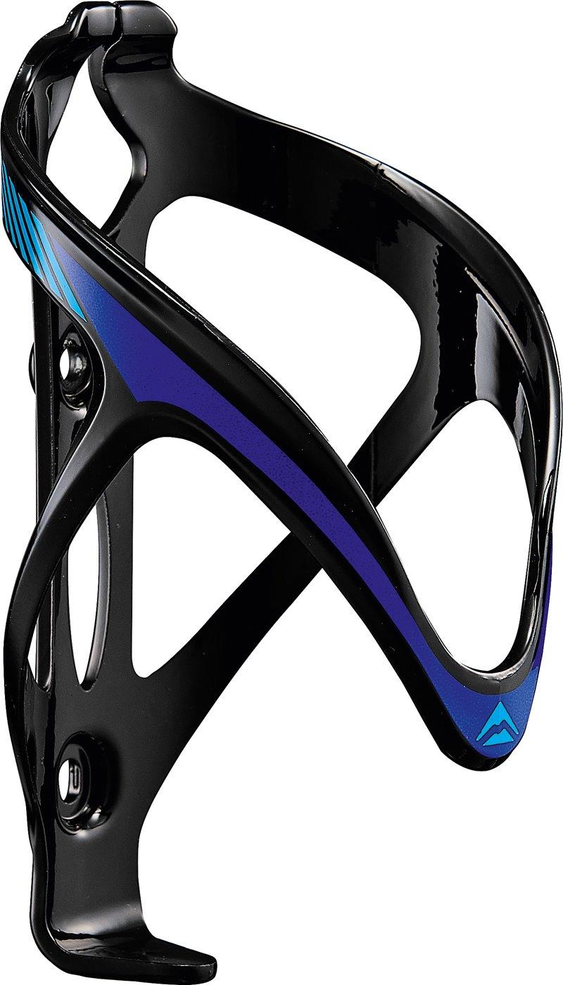Košík na lahev plast  696  černo/modrý
