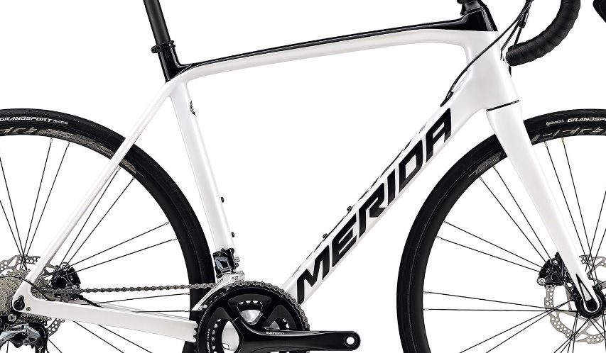 Rám Merida SCULTURA DISC 5000 Pearl White(black) XL