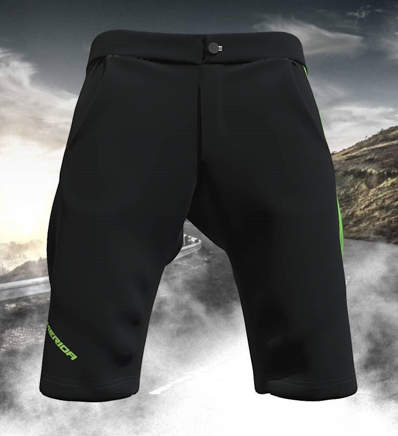 Kalhoty pánské GSG BAGGY černo-zelené S