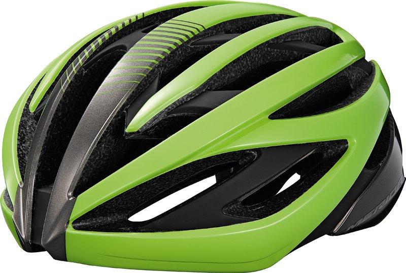 Přilba ROAD SL Green/silver 54-58cm