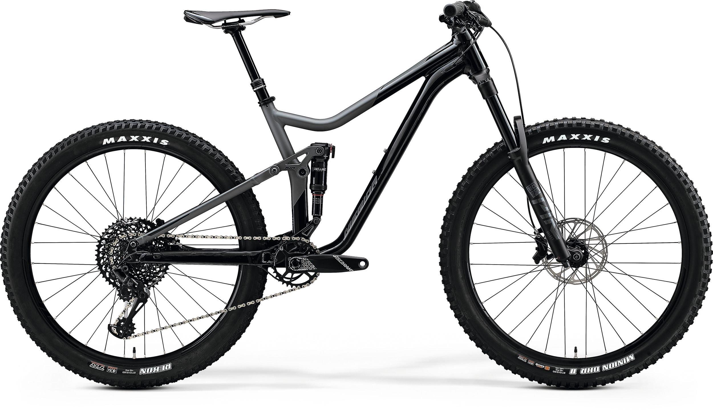 Merida ONE -FORTY 800 černé/šedé (165-180 cm)