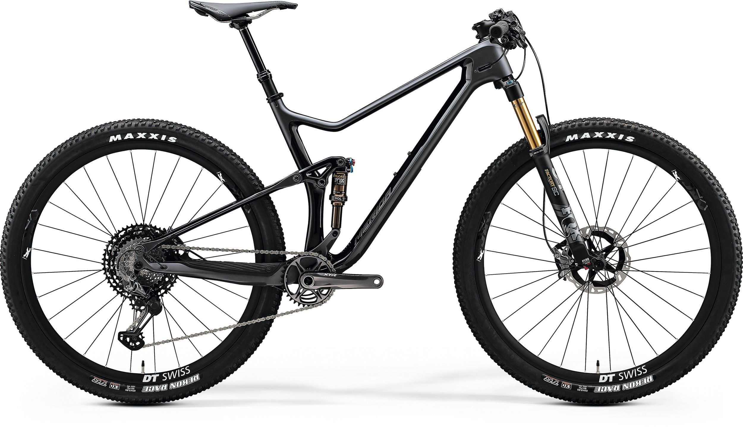 Merida ONE-TWENTY RC 9.9000 antracit/černé (195-205 cm)