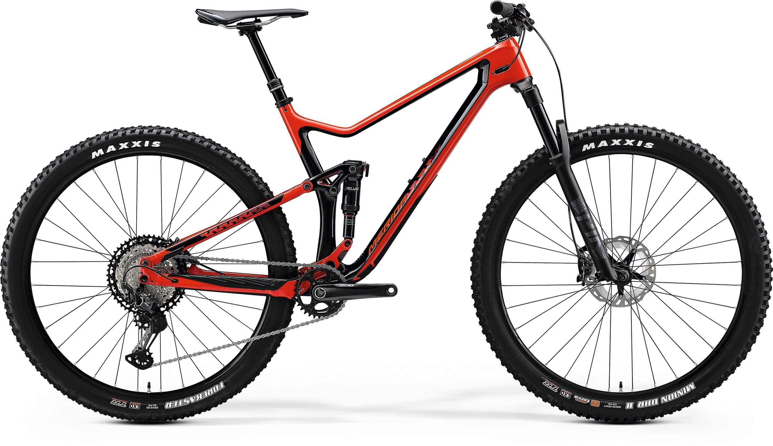 Merida ONE -TWENTY 9.7000 červené/černé (>195 cm)