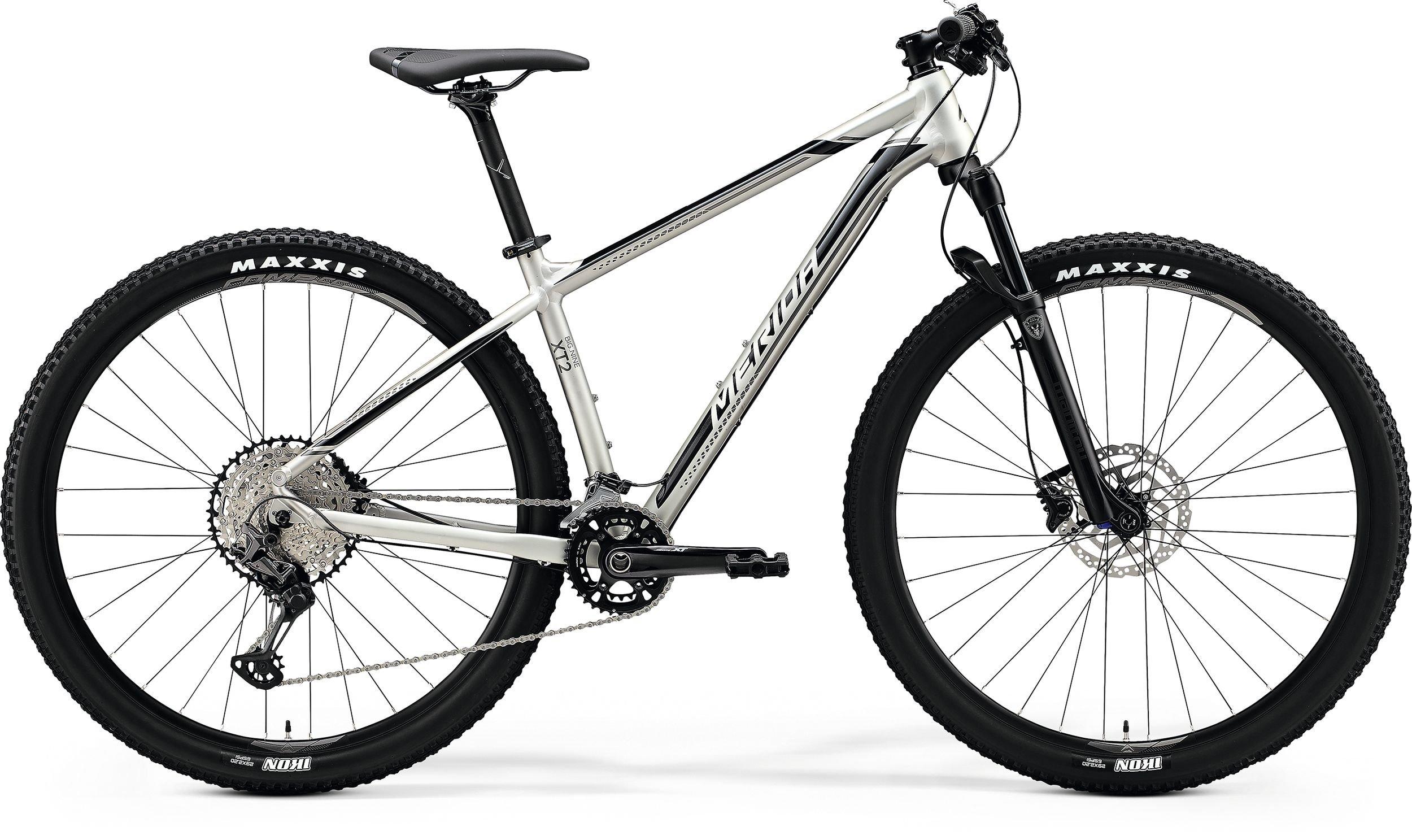 Merida BIG.SEVEN XT2 stříbrné/černé (175-185 cm)