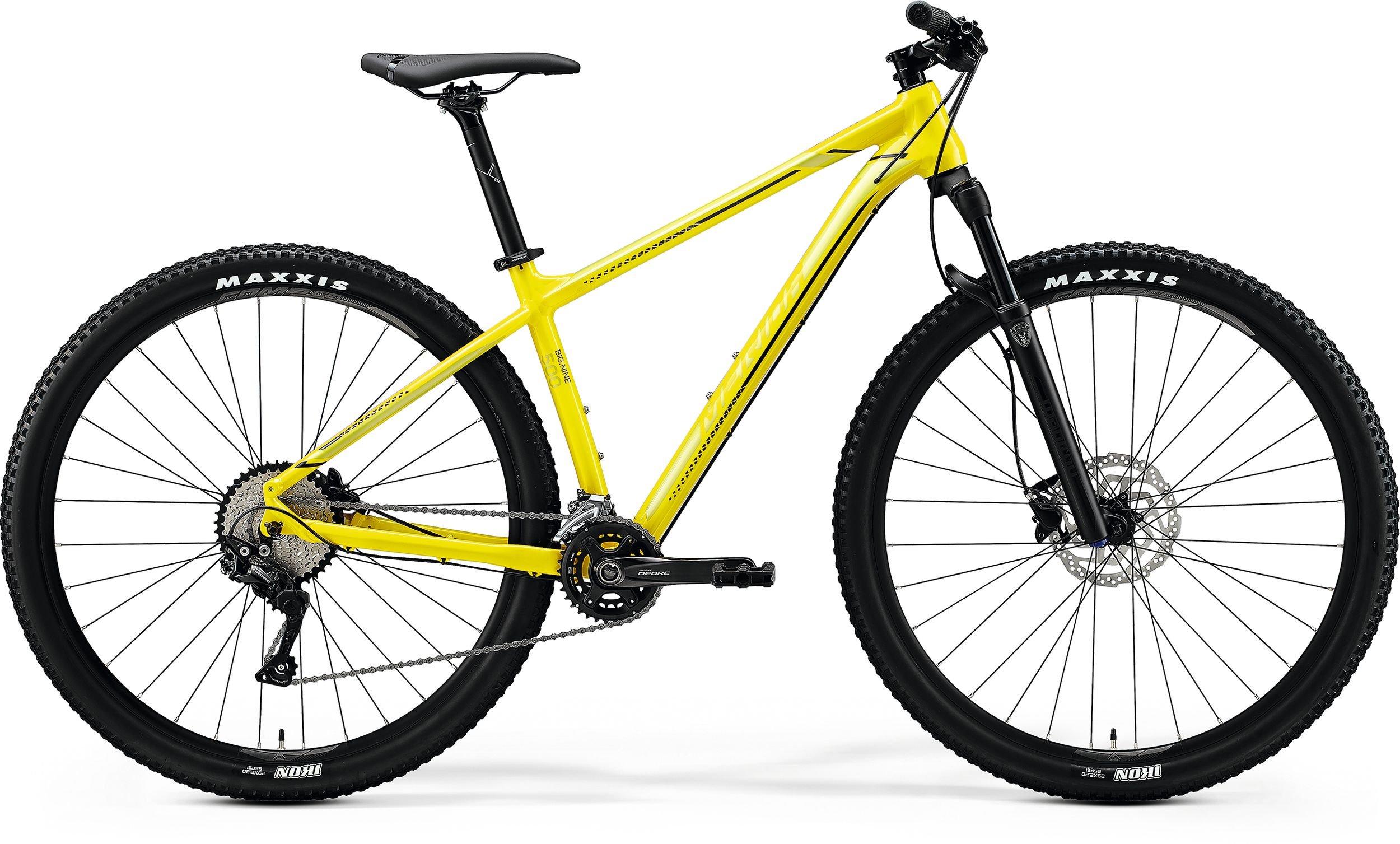 Merida BIG.NINE 500 žluté (>195 cm)