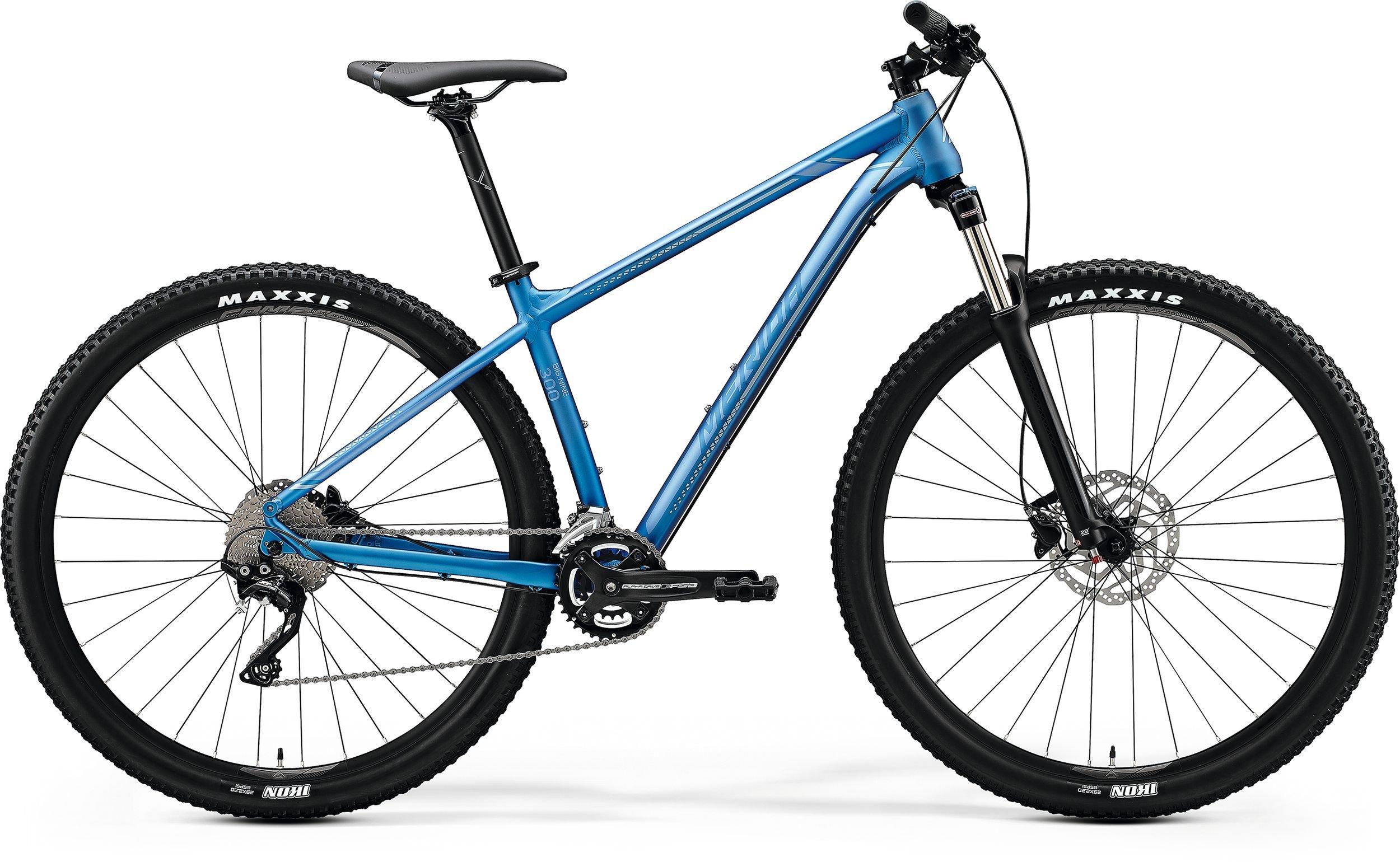 Merida BIG.NINE 300 světle modré/stříbrné (195-205 cm)