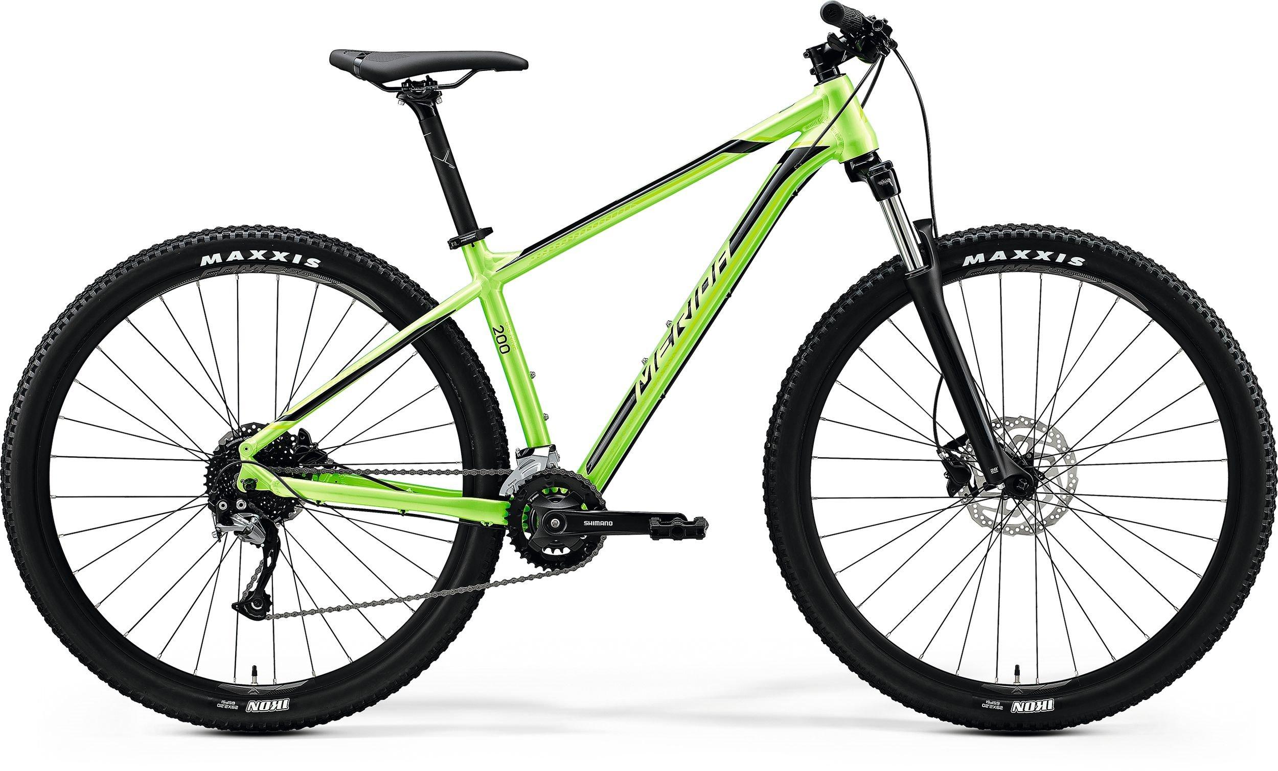Merida BIG.NINE 200 zelené/černé (195-205 cm)