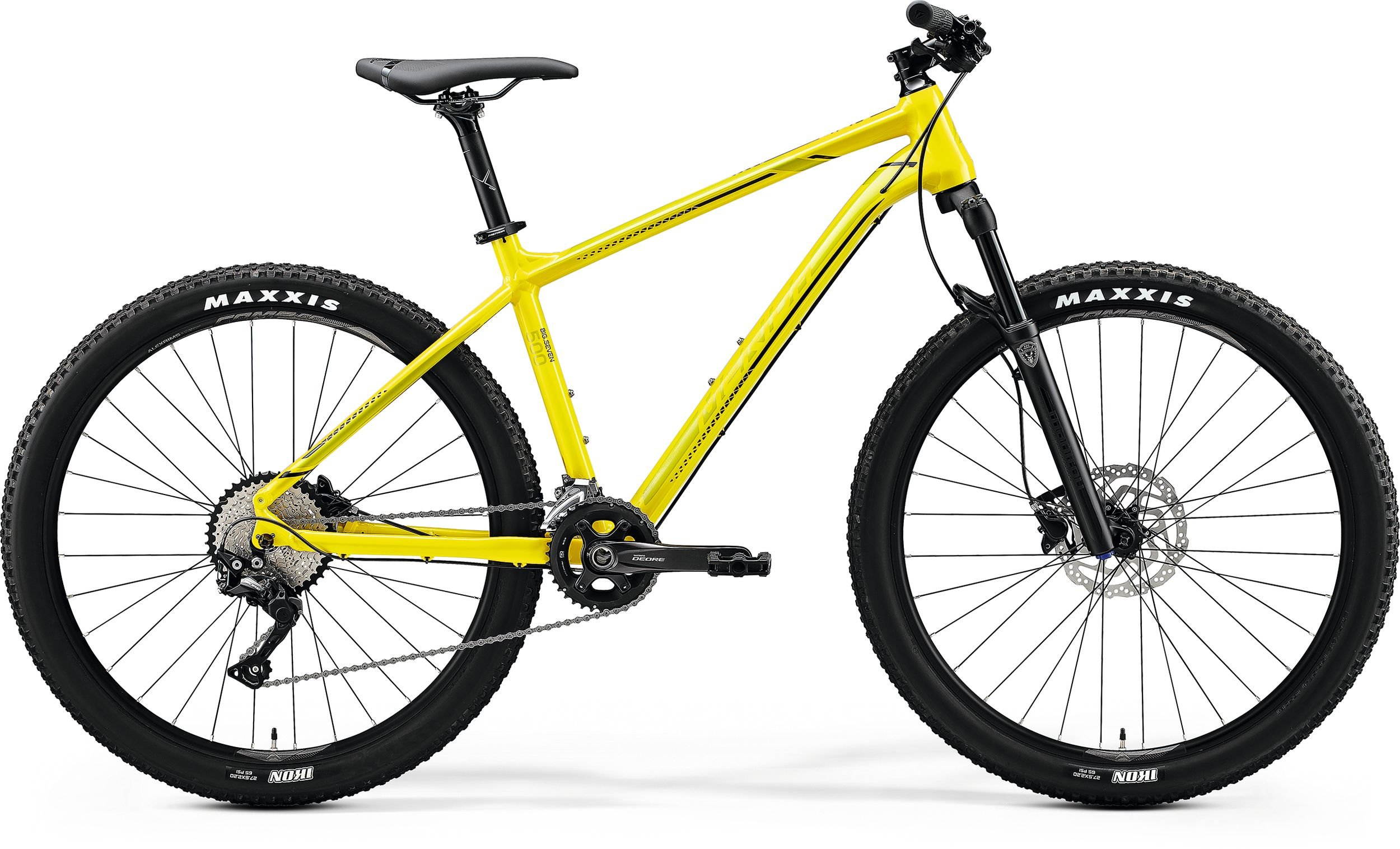Merida BIG.SEVEN 500 žluté/černé (155-165 cm)
