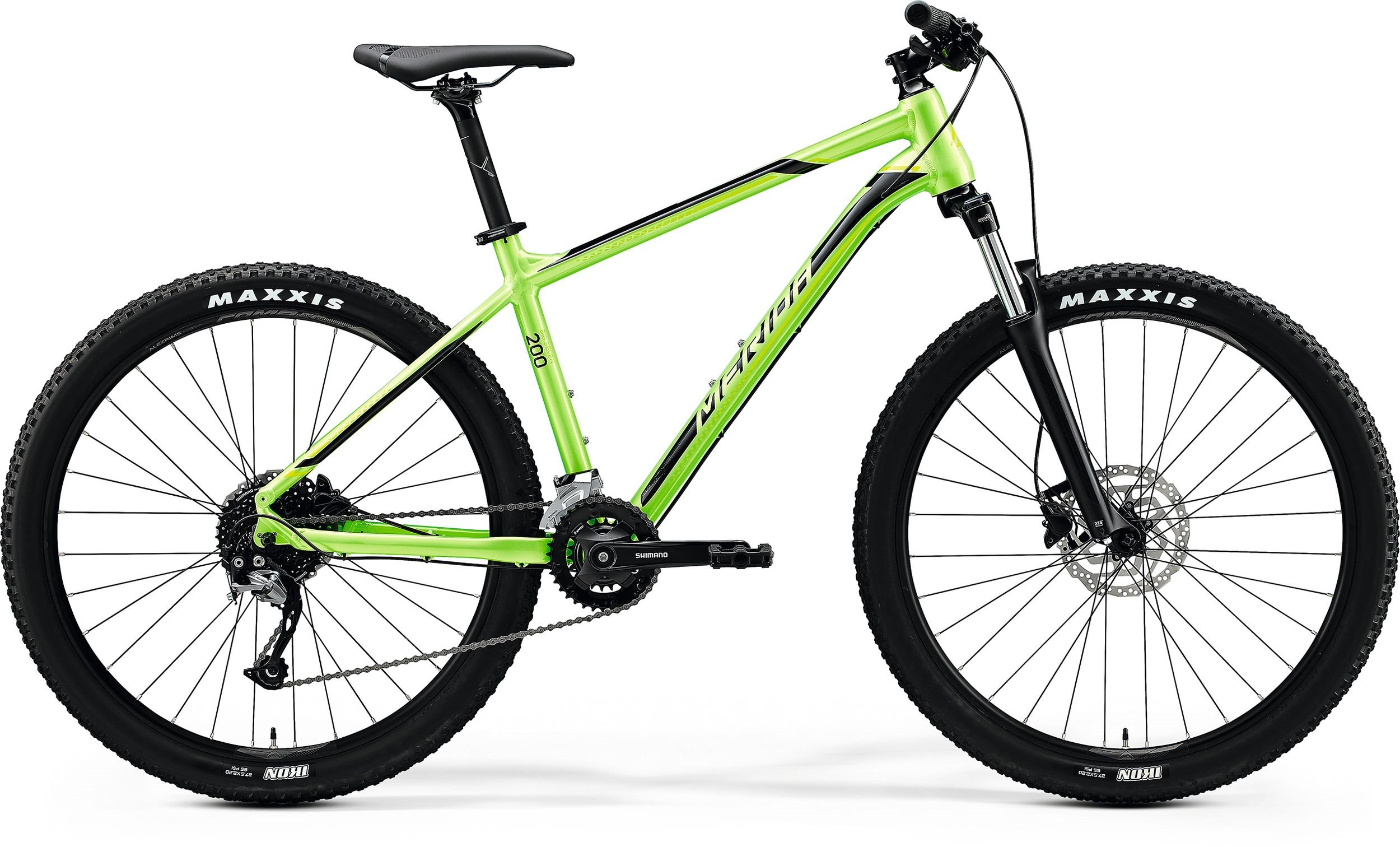 Merida BIG.SEVEN 200 zelené/černé (150-155cm)