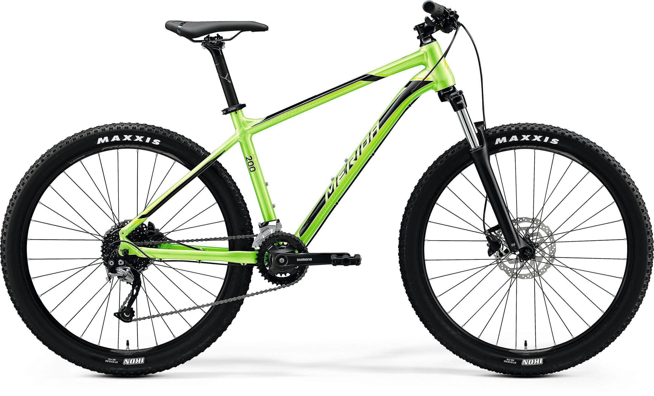 Merida BIG.SEVEN 200 zelené/černé (165-175cm)