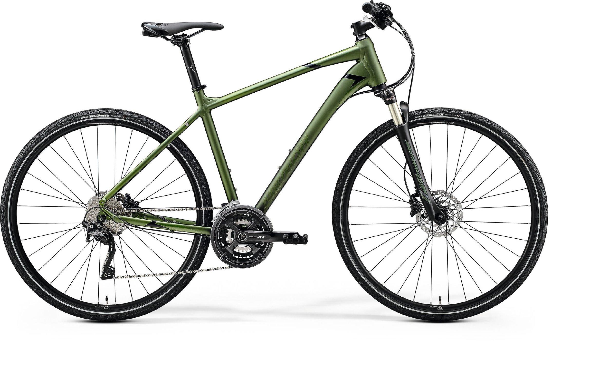 Merida CROSSWAY XT-EDITION zelené/černé (175-185cm)