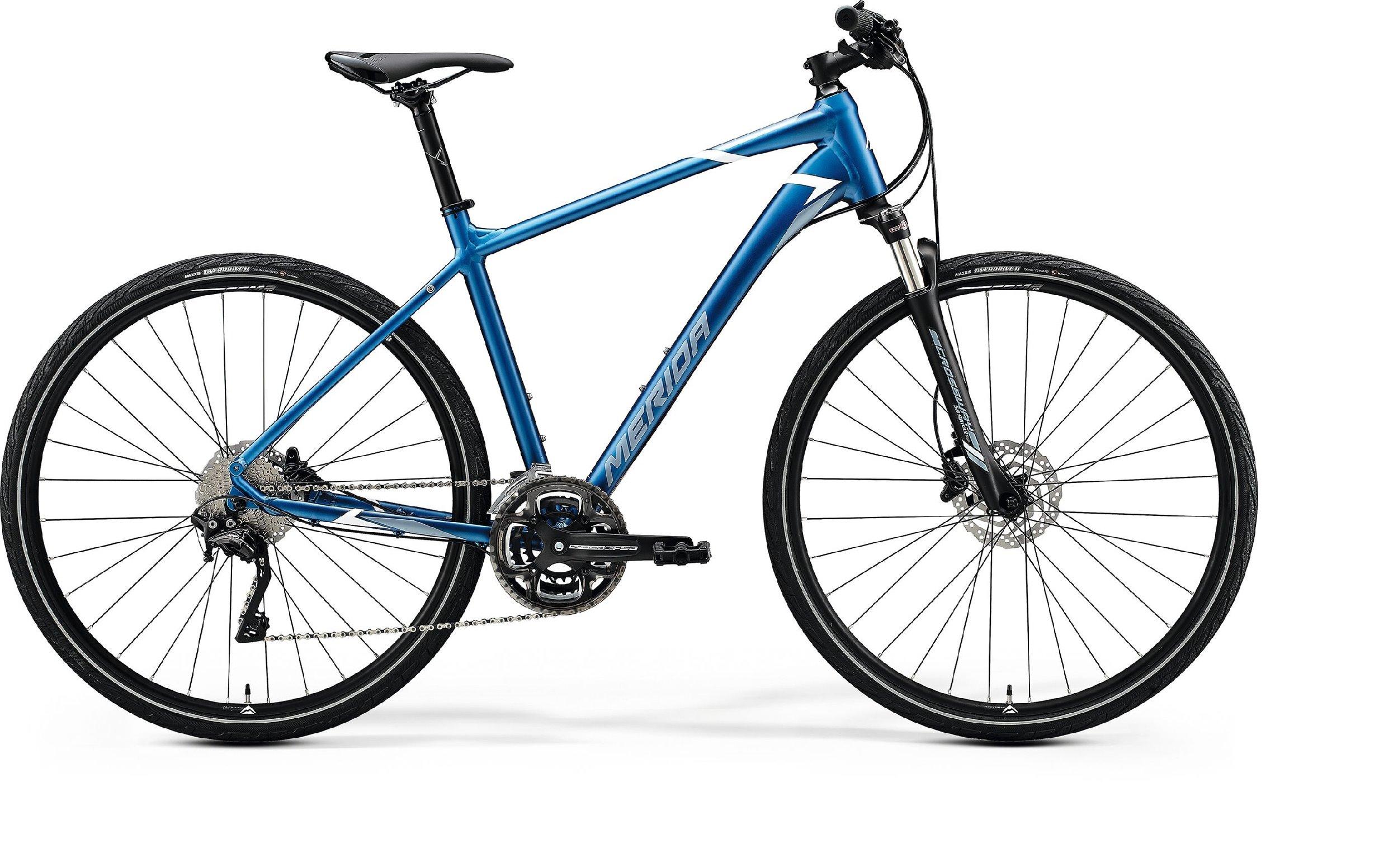 Merida CROSSWAY 500 modré/stříbrné (195-205 cm)