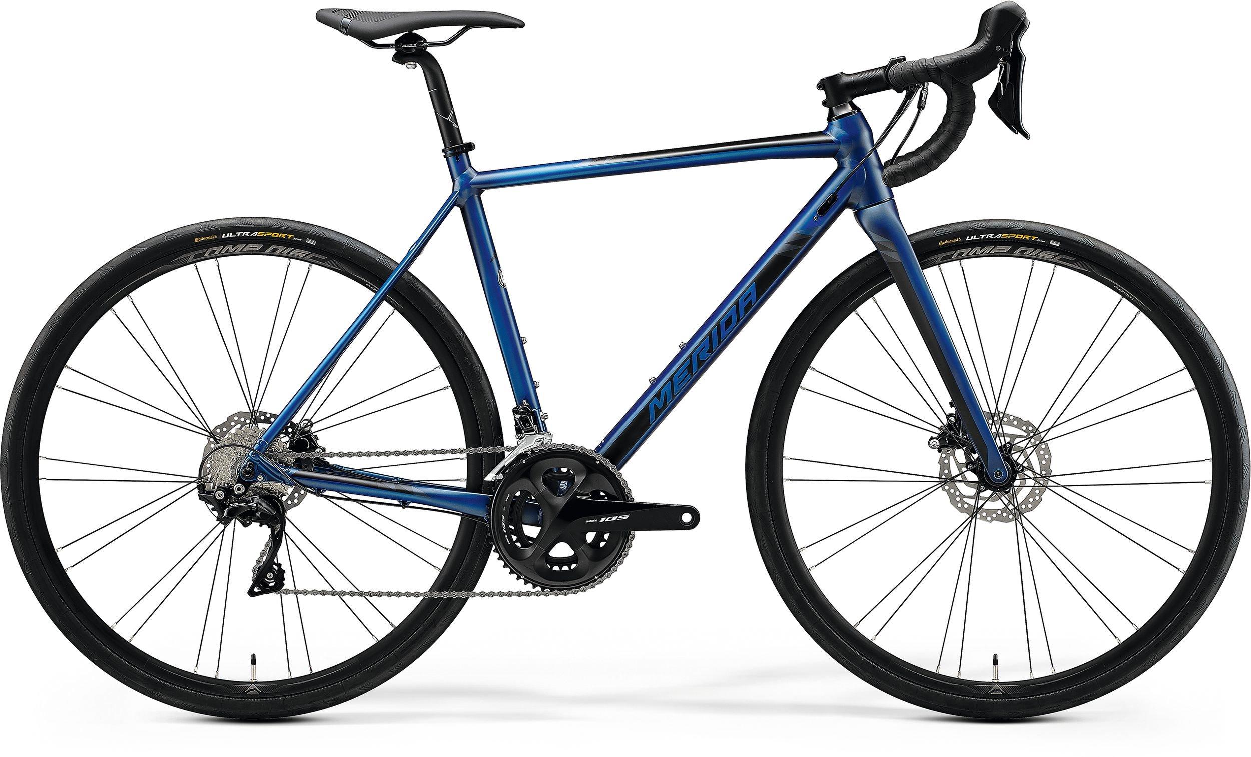 Merida MISSION ROAD 400 modré/černé (195-205 cm)