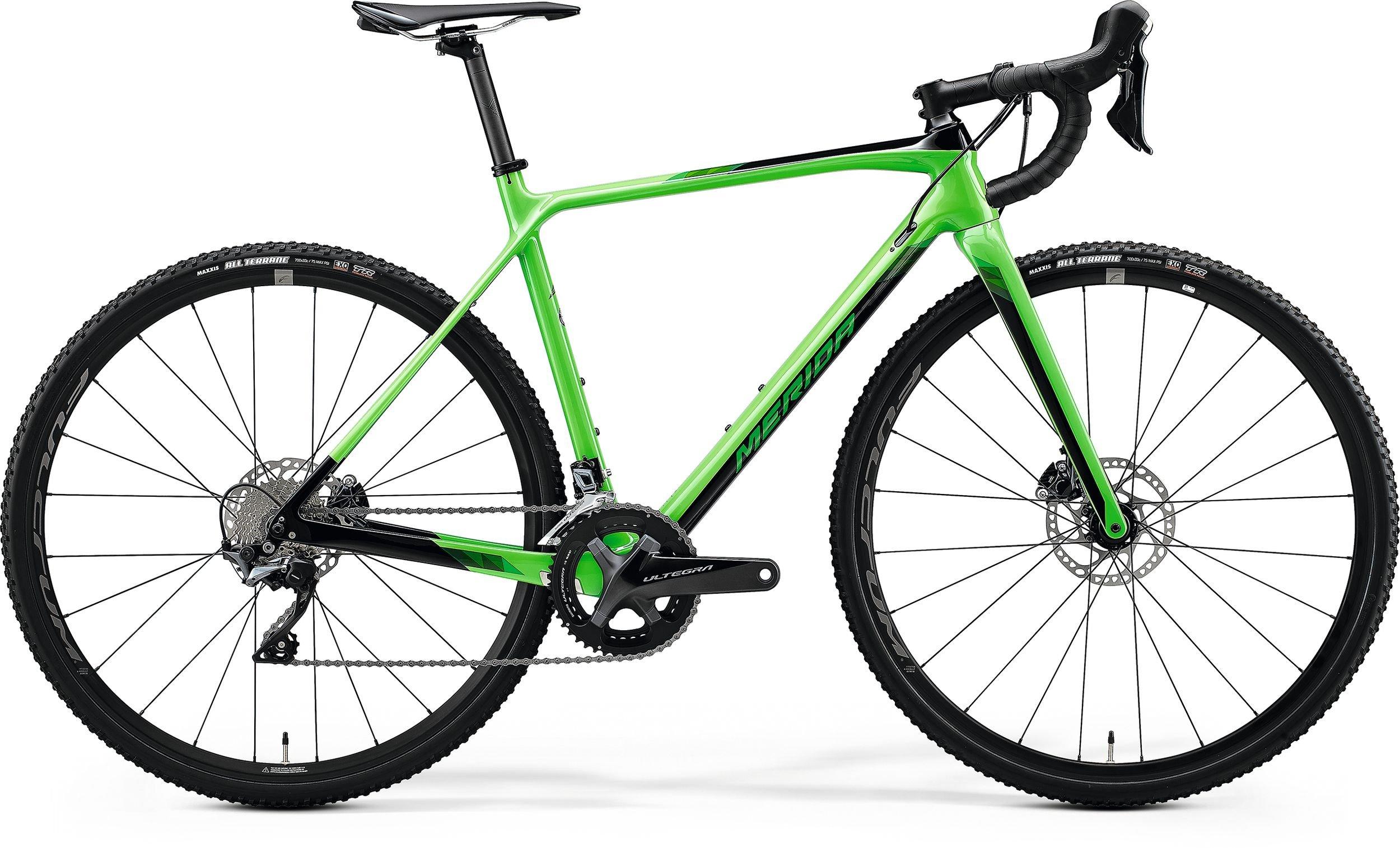 Merida MISSION CX 7000 zelené/černé (160-170 cm)