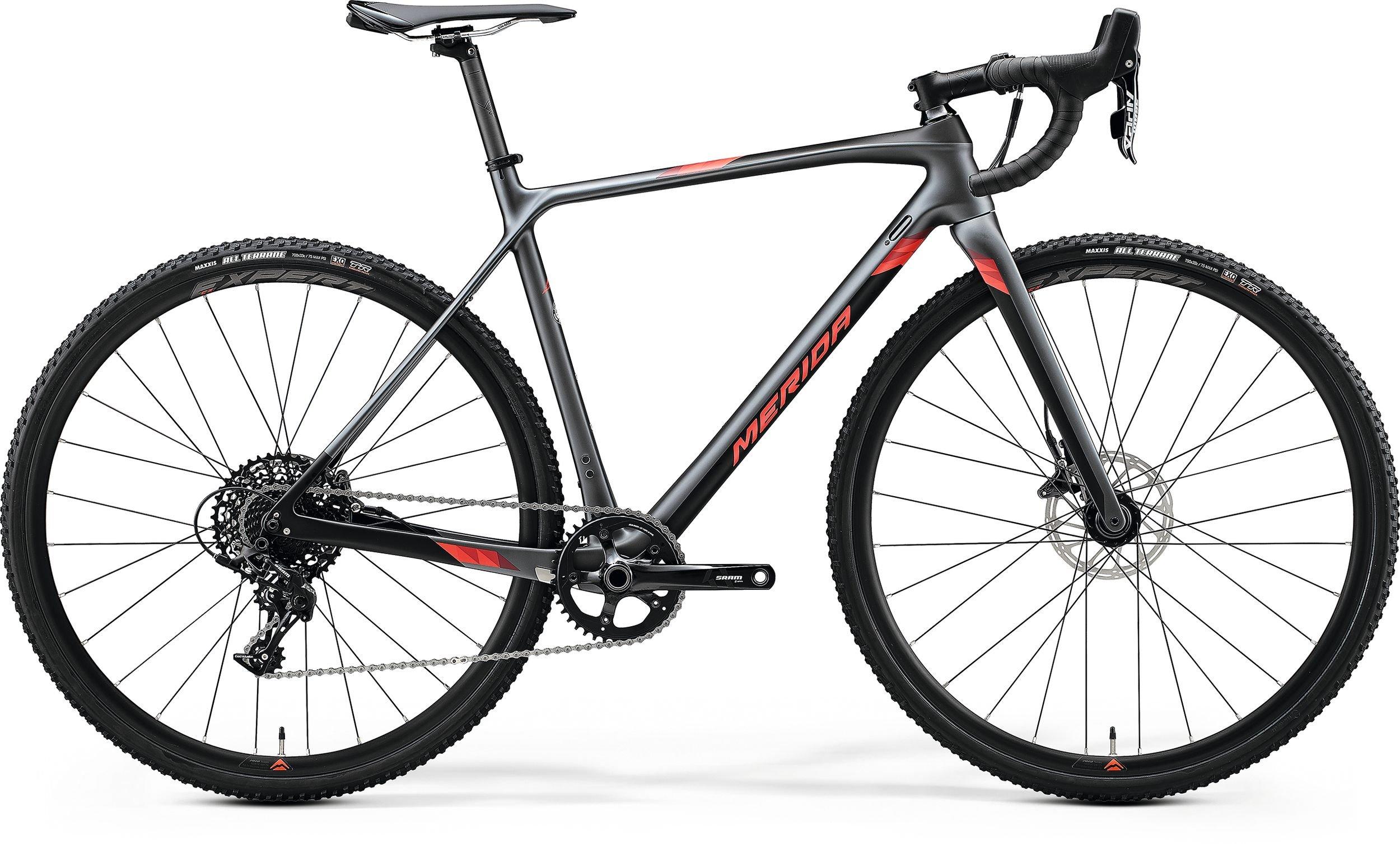 Merida MISSION CX 5000 černé/stříbrné/červené (165-175 cm)