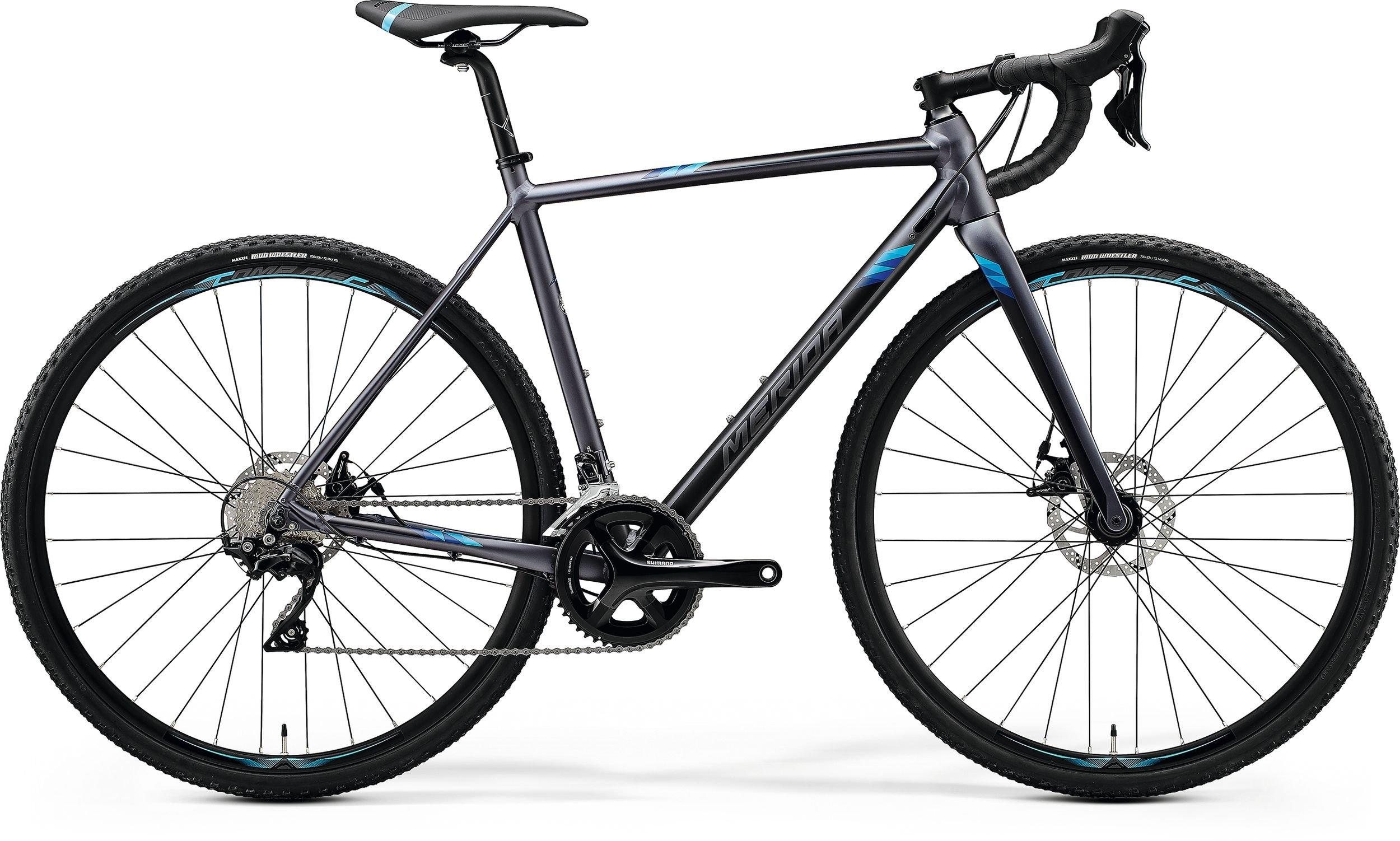 Merida MISSION CX 400 antracitové/modré (190-200 cm)