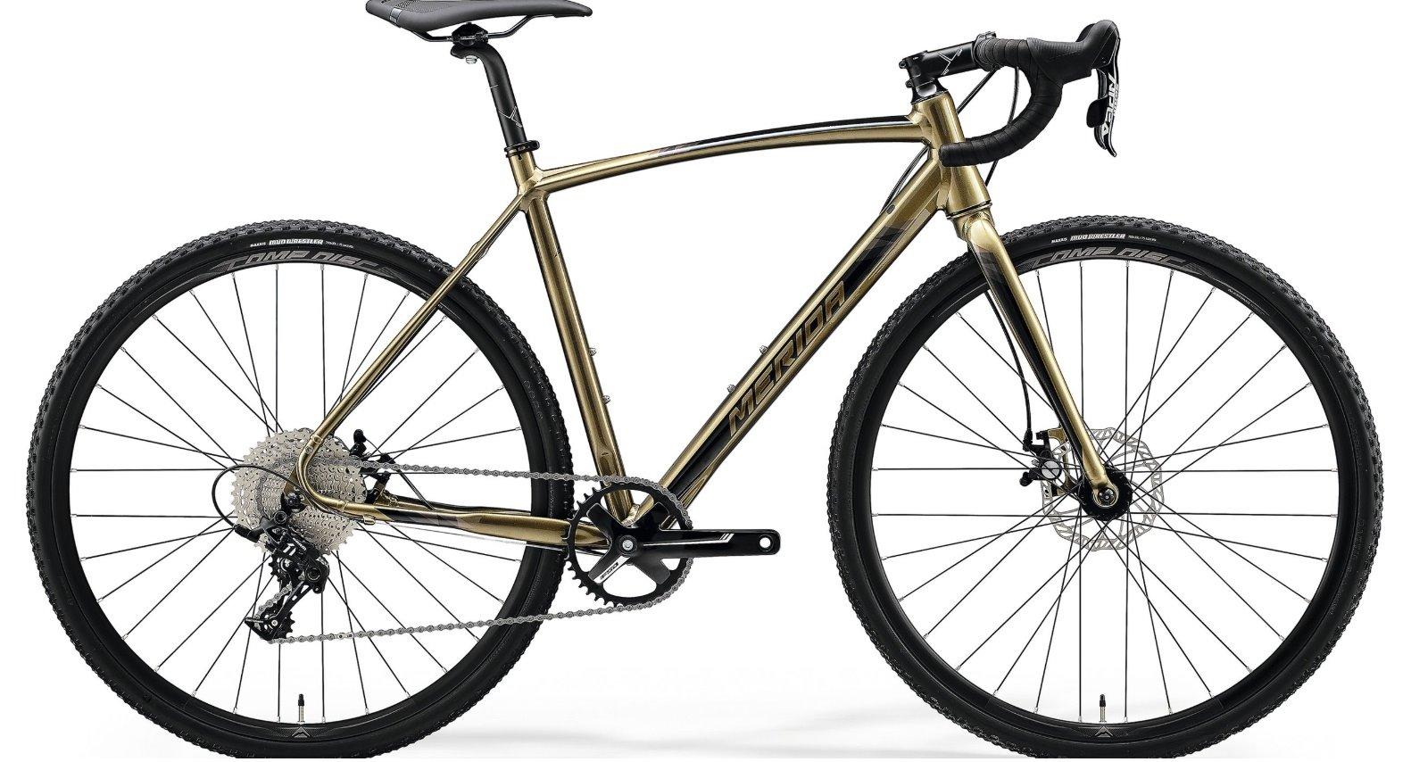 Merida MISSION CX 100 SE zlatá/černá (180-185 cm)