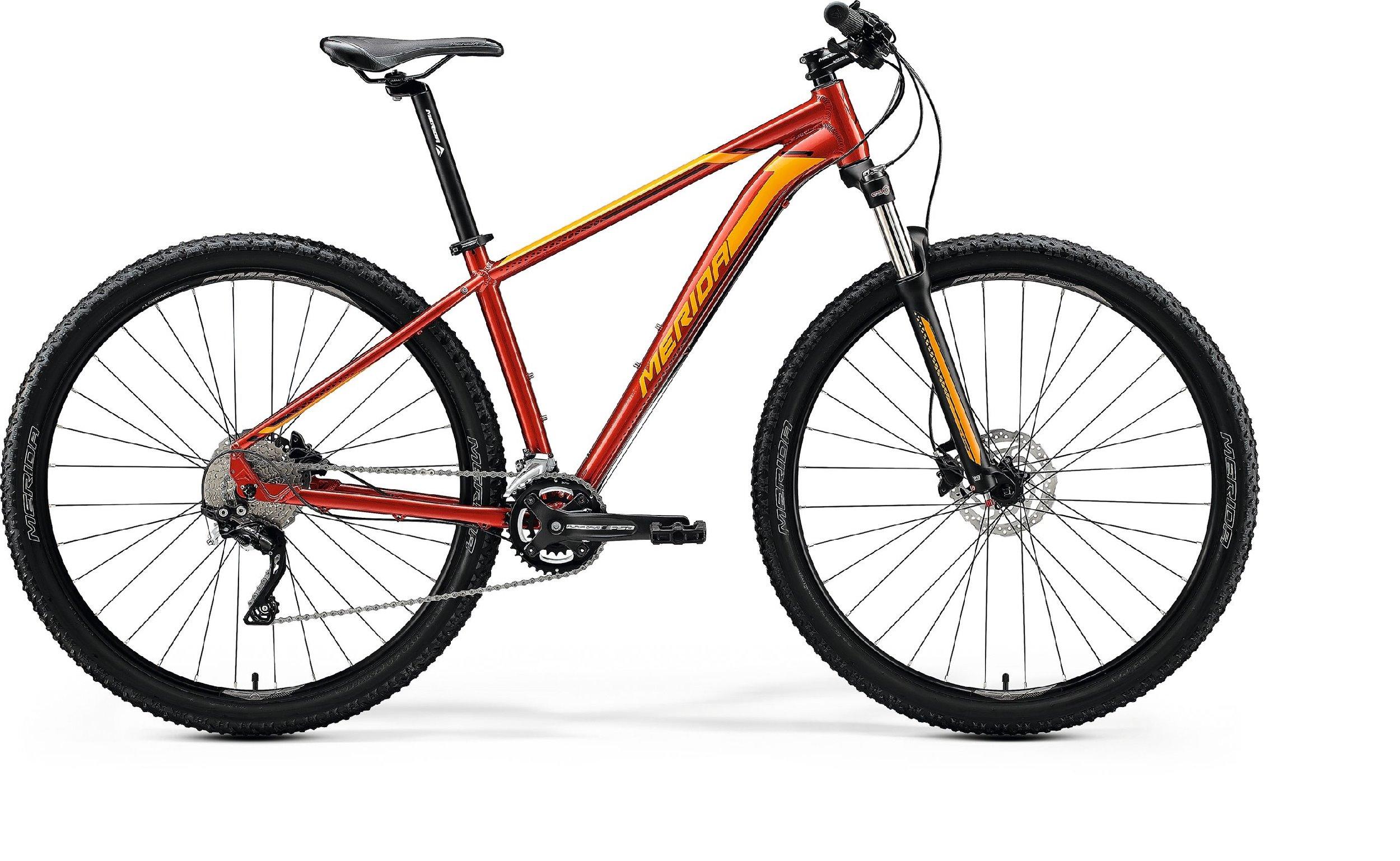 Merida BIG.NINE 80 červené/oranžové (165-175 cm)