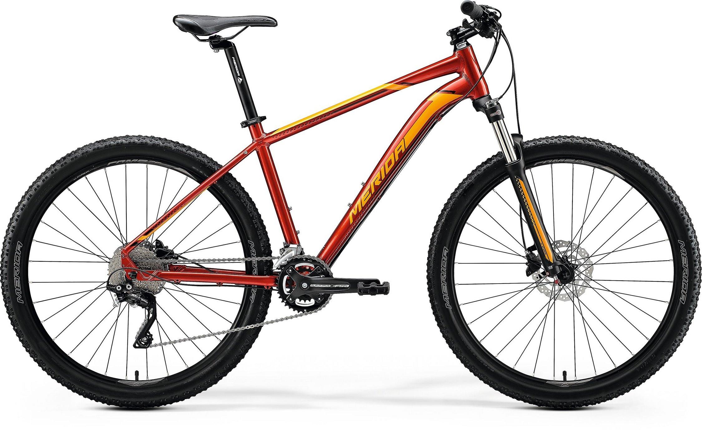 Merida BIG.SEVEN 80 červené/ oranžové (155-165 cm)